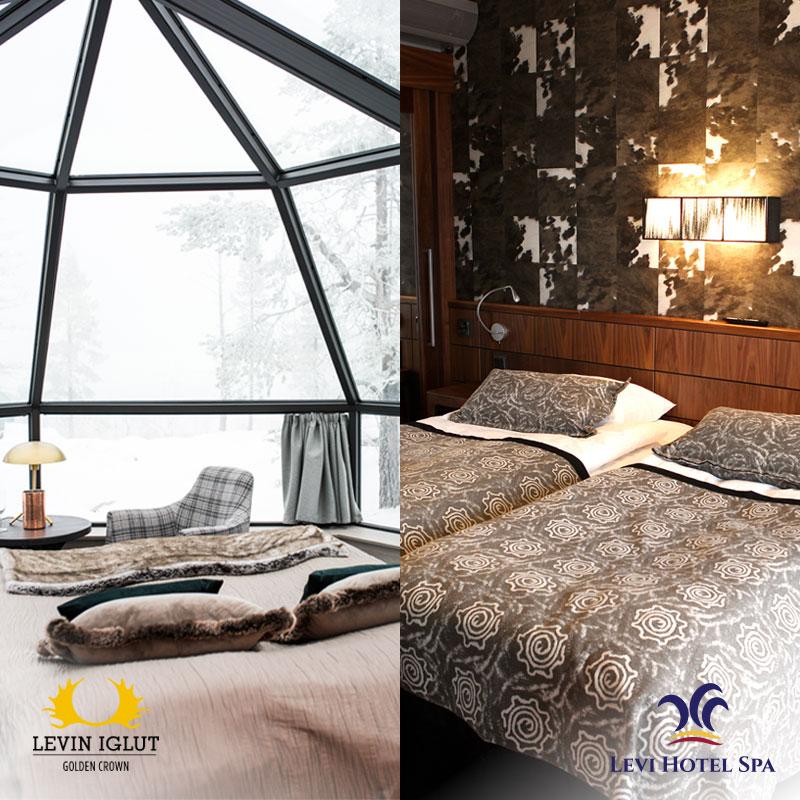Levin Iglut ja Levi Hotel Spa
