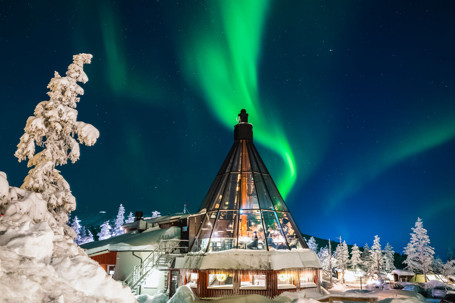 The best igloo experience in Finnish Lapland.