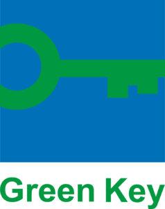 Green Key -sertifikaatin logo.